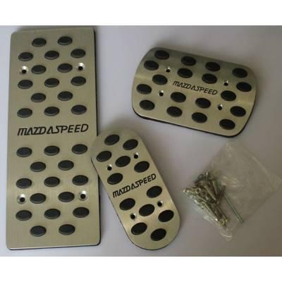 Mazdaspeed  Комплект спортивных педалей для Mazda 3  (АКПП)