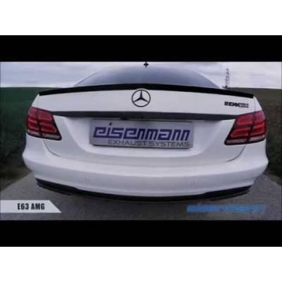 EISENMANN Выхлопная система Race (средняя и задняя часть) для Mercedes Benz W212 E63 AMG/ E63S AMG