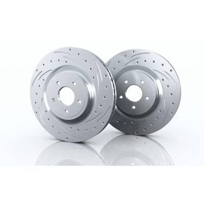 Brannor передние тормозные диски для Honda Pilot (mk3)/Acura MDX (2016+) (330x28mm)