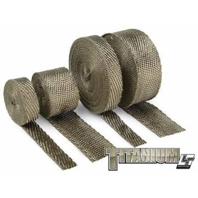 Термолента 25mm*4,5m Titanium, до 1000°С DEI 010128
