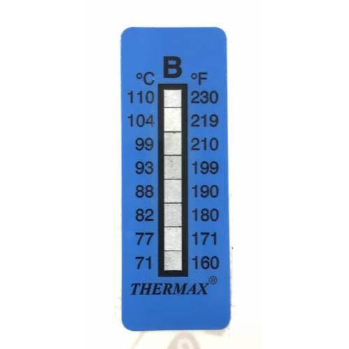 Термоиндикатор THERMAX-B самоклеющийся 1 шт. 71°С - 110°С