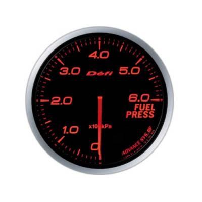 DEFI Link Meter ADVANCE BF Датчик давления топлива 60мм (оптитрон красный)