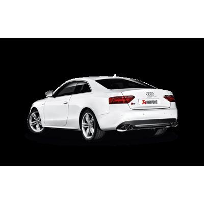 AKRAPOVIC Выхлопная система (задняя часть) Slip-On для Audi S5