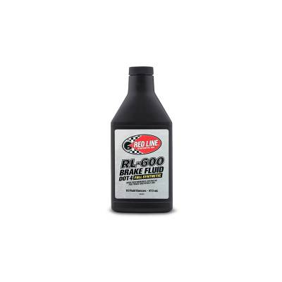 REDLINE RL600 Тормозная жидкость - 0,473л  (318°C)