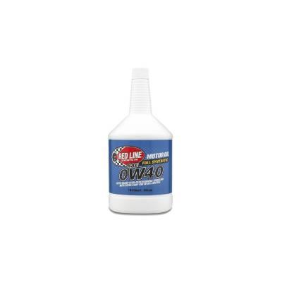 REDLINE OIL моторное масло  0W40 (0,95л)