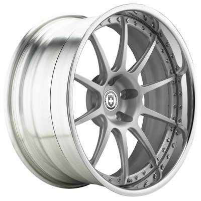 HRE WHEELS 593RS Диск колесный кованый R18*9.5 ET20 5/114.3 DIA 73, цвет Gloss Silver