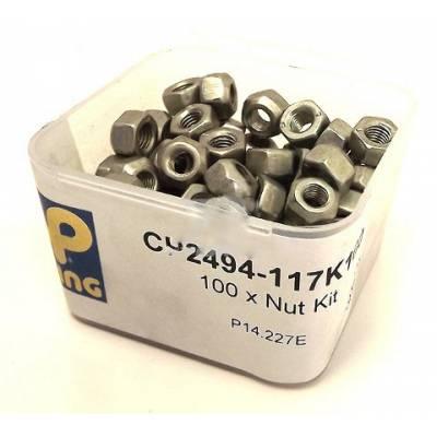 AP RACING CP2494-117 Гайка для крепления сменных дисков