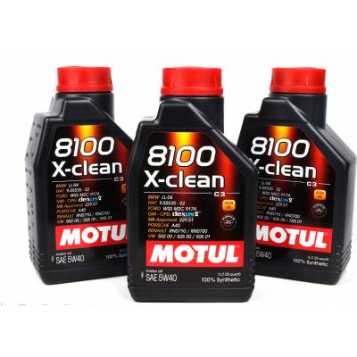 MOTUL 8100 X-clean 5W40 масло моторное 1 л.