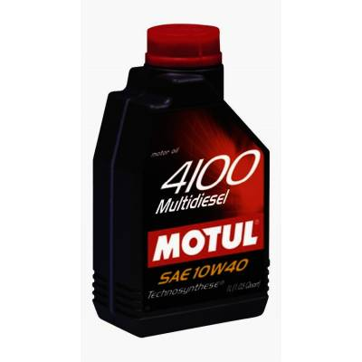 MOTUL 102812 Моторное масло 4100 Multidiesel 10W40 1 л.