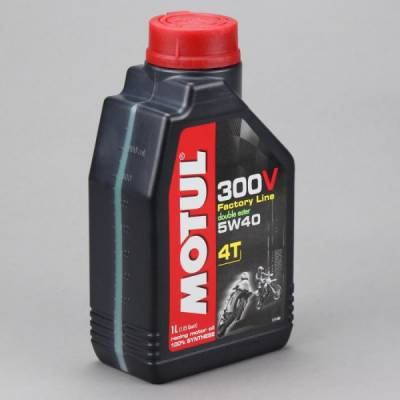 MOTUL 104112 Моторное масло 300 V 4T FL Road Racing SAE 5W40 1 л.