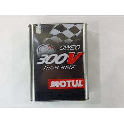 MOTUL 103122104239 Масло моторное 300V High RPM 0W-20 2L