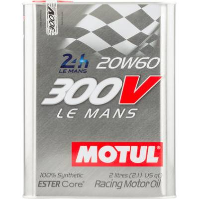 MOTUL 101210104245 Масло моторное 300V Le Mans 20W60 2L