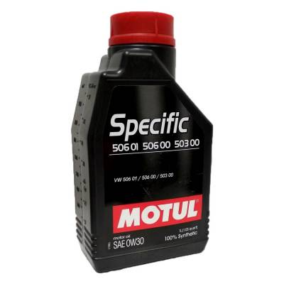 MOTUL 101169 Масло моторное SPECIFIC 506 01 506 00 503 00 0W-30 1L 101169