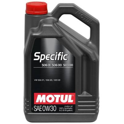 MOTUL 101171 Масло моторное SPECIFIC 506 01 506 00 503 00 0W-30 5L 101171