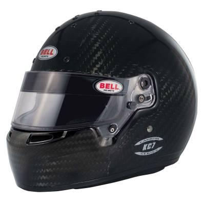 BELL 1205006 Шлем для картинга KC7-CMR CARBON, CMR2016, карбон, р-р 59 , закрытый