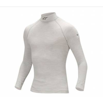 ALPINESTARS 4754012_92_XS/S Майка/футболка (FIA) ZX TOP (длин.рукав), серый, р-р XS/S