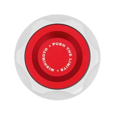 Пробка заливной горловины масла Subaru красная Mishimoto MMOFC-SUB-RD