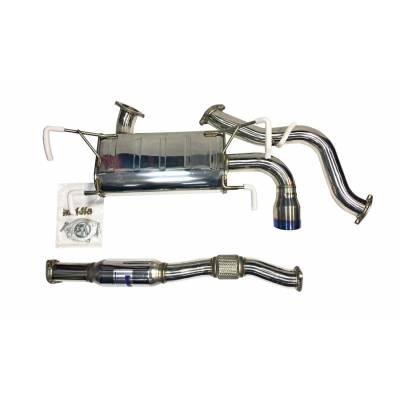 INVIDIA Выхлопная система Q300 (cat-back) для SUBARU Impreza WRX GH8 2008+ (титановый наконечник)