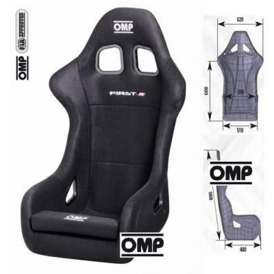 OMP  Кресло-ковш  FIRST-R (черное)