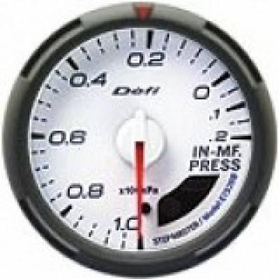 DEFI DF05401 Датчик давлен. во впуск.коллект.60мм белый
