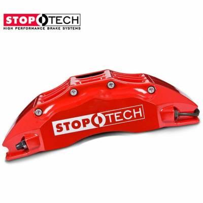 StopTech 372.638.1174 Суппорт тормозной правый ST-60, 30-34-36mm pistons, 32 mm красный