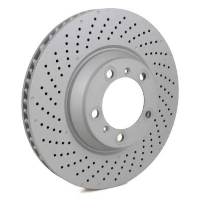 Zimmermann Sport задние тормозные диски для Porsche Macan Turbo (360/395hp) (356x28mm)