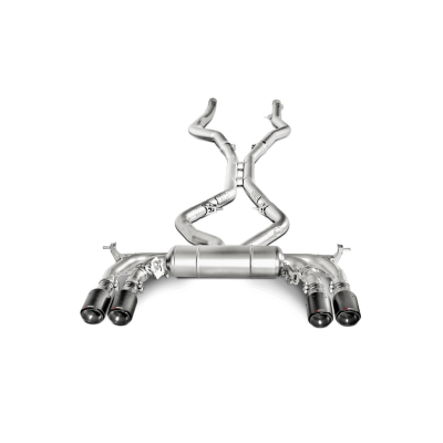 AKRAPOVIC Титановая выхлопная система Evolution для BMW X5M/X6M (F85/F86)