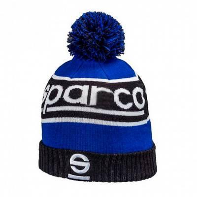 SPARCO 01232BMAZ Шапка вязанная WINDY, синяя