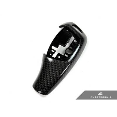 AutoTecknic  Карбоновая Накладка рычага стандартной АКПП для BMW X6/X6 (F15/F16)
