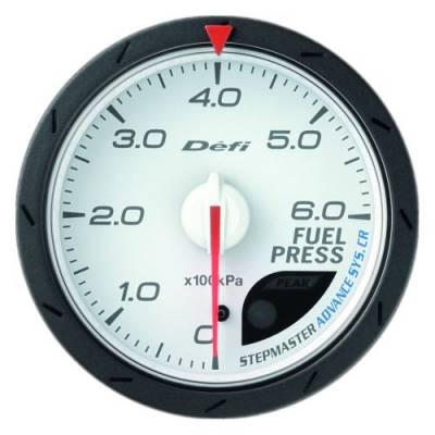 DEFI Link Meter ADVANCE CR Датчик давления топлива 60мм (белый)