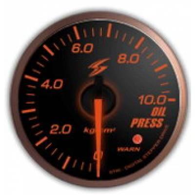 STRI Датчик давления масла SLM 60мм (красная подсветка)