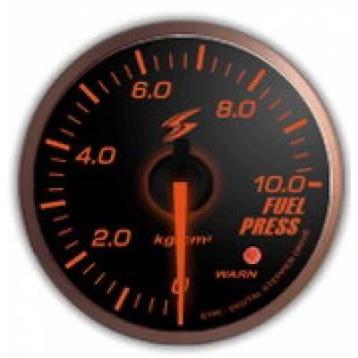 STRI Датчик давления топлива SLM 60мм (красная подсветка)