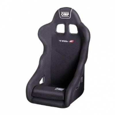OMP  Кресло-ковш TRS, черное  (FIA)