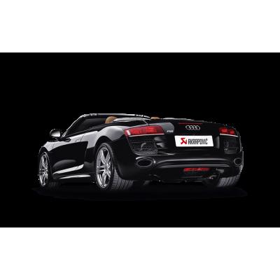 AKRAPOVIC  Титановая Выхлопная система Slip-On для Audi R8 V10 5.2  (2009+)