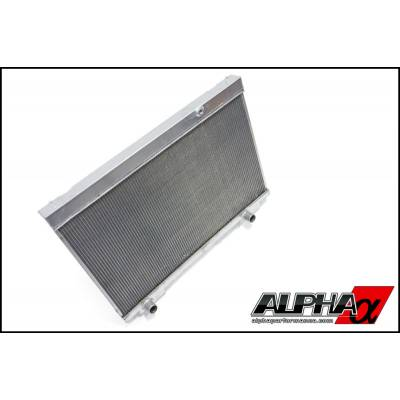 AMS ALP.07.02.0005-1 ALPHA Performance R35 GT-R Dual Pass Radiator Upgrade