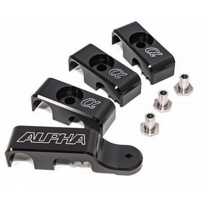 AMS ALP.07.07.0011-1 ALPHA Performance R35 GT-R Fuel Line Clamp System