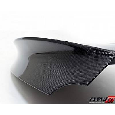 AMS ALP.07.15.0009-3 Nissan GT-R Carbon Fiber Trunk - 2x2 Twill Gloss Finish without holes for fact