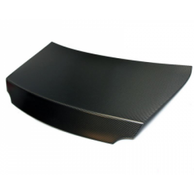 AMS ALP.07.15.0009-4 Nissan GT-R Carbon Fiber Trunk - 2x2 Twill Matte Finish without holes for fact
