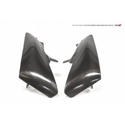 AMS ALP.07.15.0028-1 ALPHA Performance R35 GT-R Carbon Fiber Headlight Delete