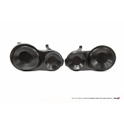 AMS ALP.07.15.0029-1 ALPHA Performance R35 GT-R Carbon Fiber Tail Light Delete (Raw Finish)