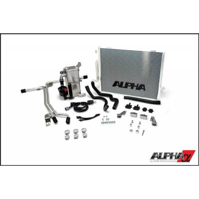 AMS ALP.14.02.0101-2 ALPHA Audi B8.5 S4 Supercharger cooling system
