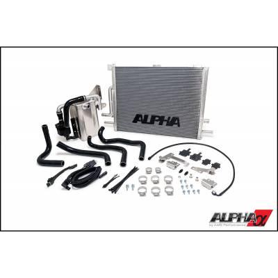 AMS ALPHA PERFORMANCE Улучшенная Система охлаждения для AUDI S6/S7 (с7)