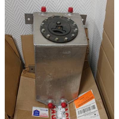 Алюминиевый бак под топливо/метанол (10л)
