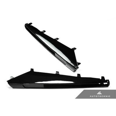 AUTOTECKNIC BM-0208-GB Накладки повторителей на передние крылья для BMW E9X M3 (черный глянец)