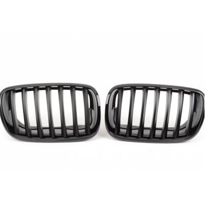 AutoTecknic  черные глянцевые решетки радиатора для BMW X5/X6  E70/E71