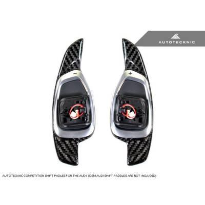 AUTOTECKNIC ATK-AU-0002 Подрулевые переключатели (карбон) для AUDI RS3/RS6/RS7/S6/S8/SQ5