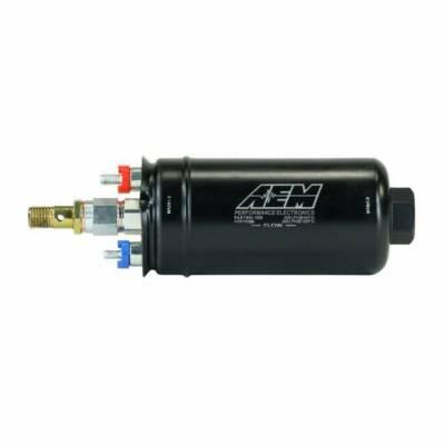 AEM выносной топливный насос 400 л/ч (вход -M18X1.5 / выход -M12x1.5)