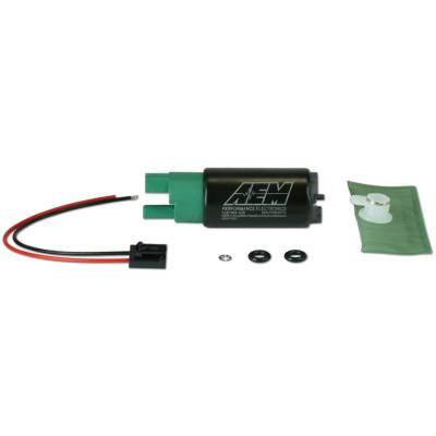 AEM топливный насос короткий 320л/ч + установочный комплект