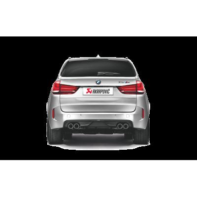 Akrapovic Задний карбоновый диффузор для BMW X5M/X6M F85/F86