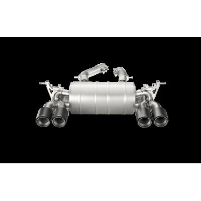 AKRAPOVIC  Титановая Выхлопная система Slip-On для BMW M3/M4 (F80/F82) (без насадок)